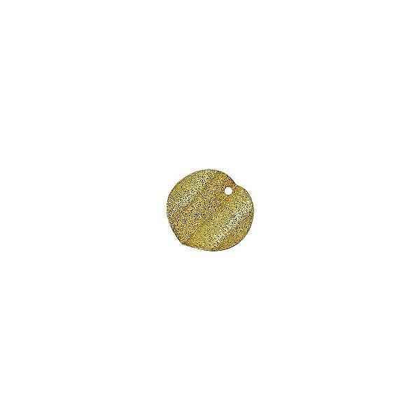 01-1410 - 1/2Kg de Estamparia Diamantada Redonda Ondulada 12mm
