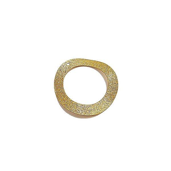 01-1199 - 1/2Kg de Estamparia Diamantada Aro Ondulado 30mm