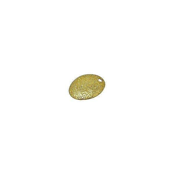 01-1487 - 1/2Kg de Estamparia Diamantada Oval Pequena 12mmx9mm