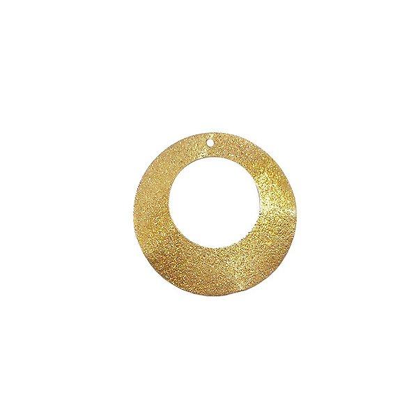 01-1198 - 1/2Kg de Estamparia Diamantada Aro Ondulado 31mm