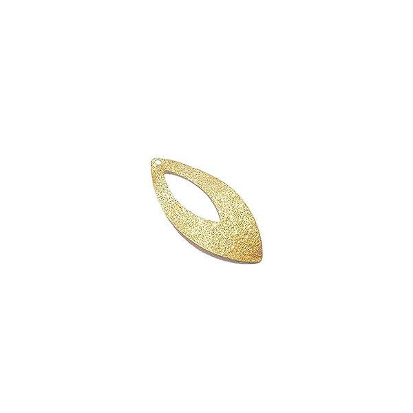 01-1039 - 1/2Kg de Estamparia Diamantada Navete com Recorte 13mmx30mm