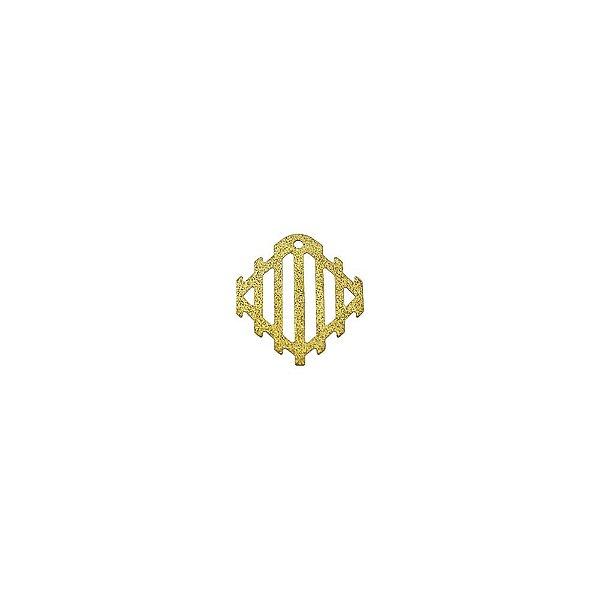 01-1881 - 1/2Kg de Estamparia Diamantada Losango 12mmx16mm