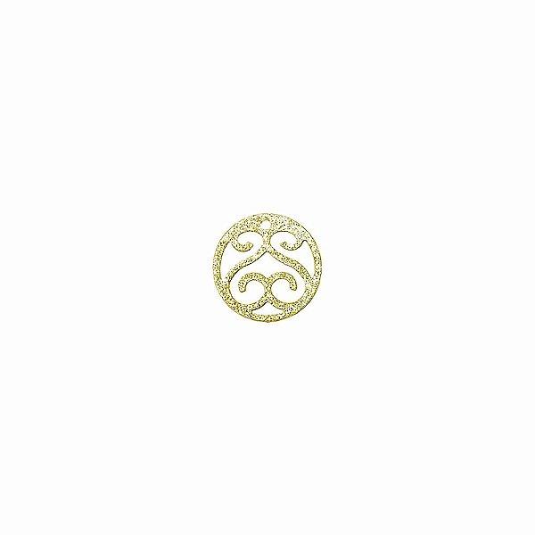 01-1884 - 1/2Kg de Estamparia Diamantada Redonda Provençal 16mm
