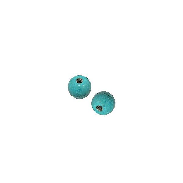 10-0000 - Pacote com 1 Kg de Pedra Bola com Passante 5mm