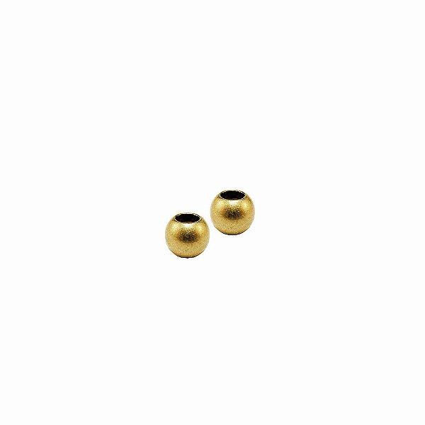 01-1810 - Pacote com 100 Bolas em Latão com Silicone 7,7mm