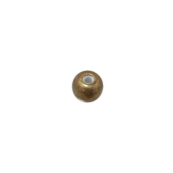 01-1845 - Pacote com 100 Bolas em Latão Revestida com Silicone 10mm