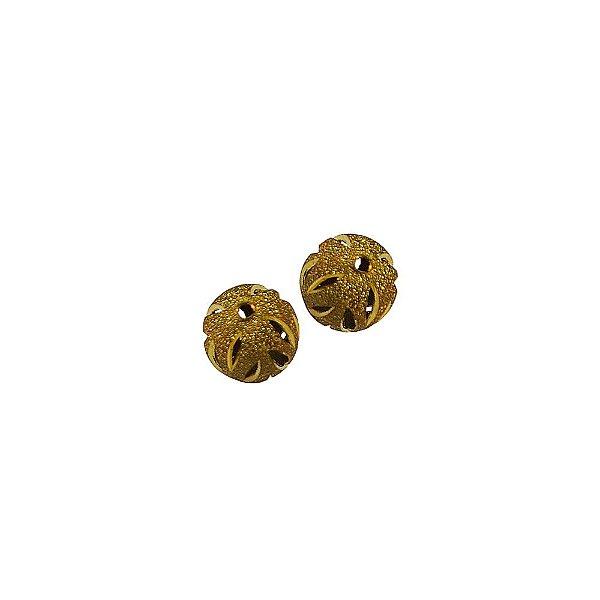 01-0702 - Pacote com 100 Bolas Diamantadas com Recortes 14mm