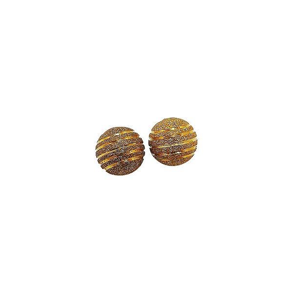 01-0692 - Pacote com 100 Bolas Diamantadas com Riscas Horizontais 14mm
