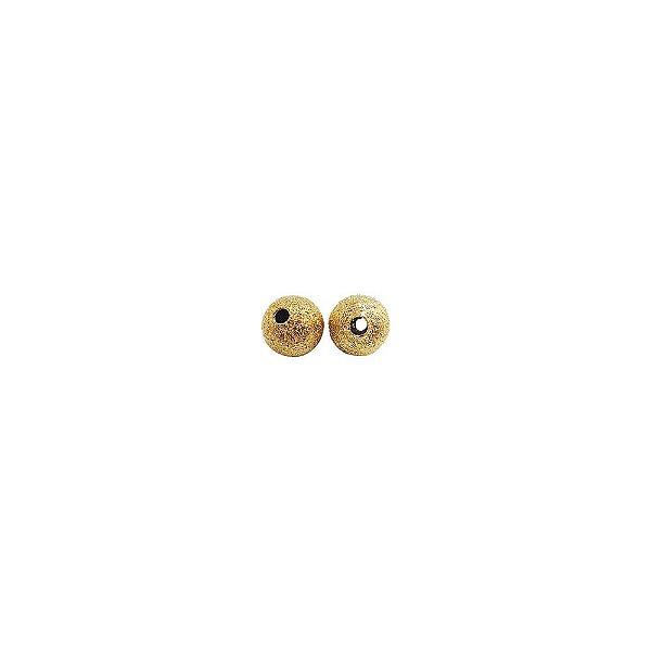 01-0136 - Pacote com 1000 Bolas Diamantadas em Latão 6mm