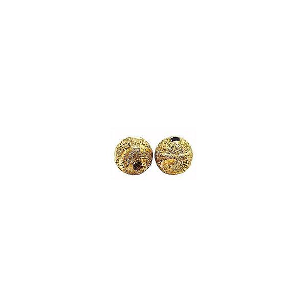 01-1467 - Pacote com 100 Bolas Diamantadas Entalhadas 8mm
