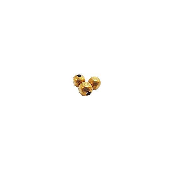 01-0825 - Pacote com 1000 Bolas em Latão Pequenas 4mm