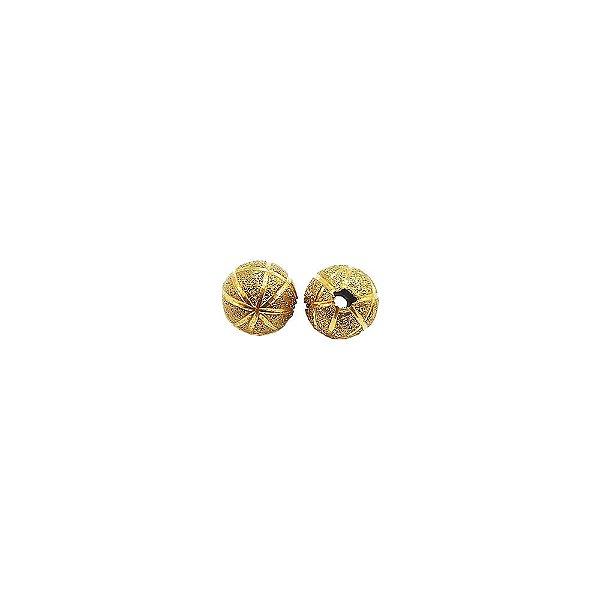 01-1457 - Pacote com 100 Bolas Diamantadas Linhas Verticais e Horizontais 8mm