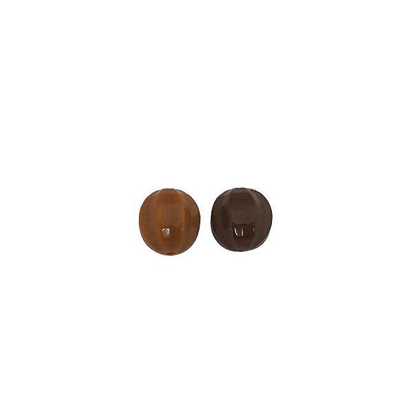 05-0079 - Pacote com 1 Kg de Acrílico Colorido Bola Facetada 12mm
