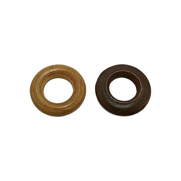 04-0056 - Pacote de 1 Kg de Madeira Argola 24mm