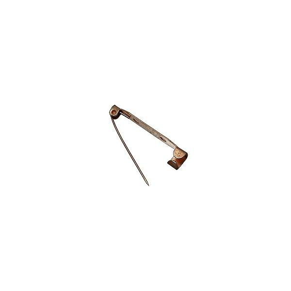 01-0064 - Pacote com 1000 Bases em Cobre para Broches 32mmx5,5mm