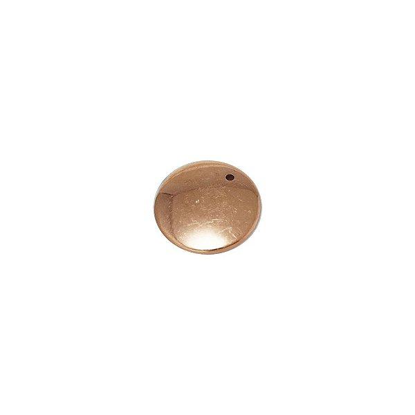 00-0065 - Pacote com 1 Kg de Pingente Disco P em ABS 18mm