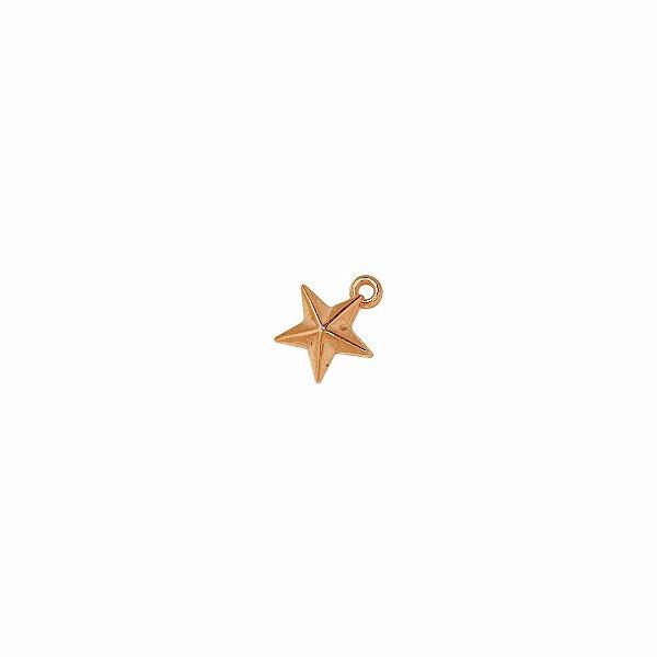 00-0083 - Pacote com 1 Kg de Pingente Estrela P em ABS 10mmx08mm