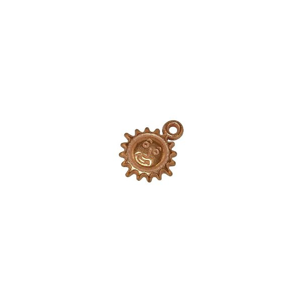 00-0046 - Pacote com 1 Kg de Pingente Sol em ABS 16mmx13mm