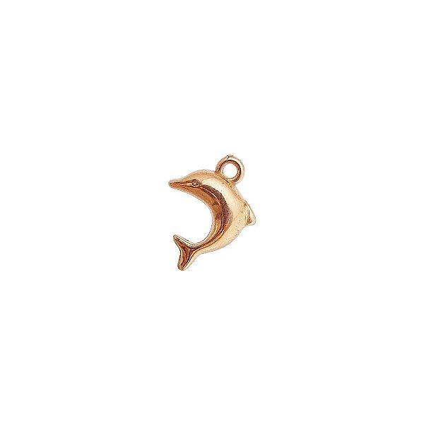 00-0297 - Pacote com 1 Kg de Pingente Golfinho em ABS 20mmx13mm