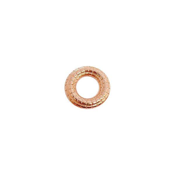 00-0304 - Pacote com 1 Kg de Argola com Detalhes em ABS 16mm