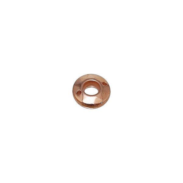 00-0240 - Pacote com 1 Kg de Argola Facetada com Furo em ABS 12mm