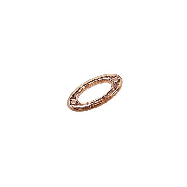 00-0284 - Pacote com 1 Kg de Argola Oval em ABS 25mmx12mm