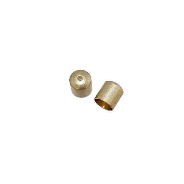 01-0986 - Pacote com 1000 Terminais em Latão com Passante 6mmx7mm