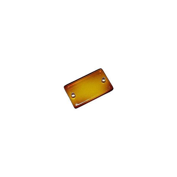 05-0878 - Pacote com 100 Acrílicos Retangulares com Passante 20mmx12mm