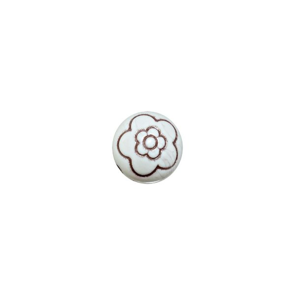 05-0963 - Pacote com 1 Kg de Acrílico Bola com Flor 18mm
