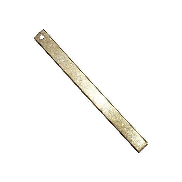 01-2173 - Pacote com 1/2 Kg de Pingente em Latão Palito 55mmx05mm