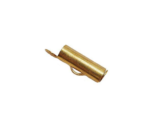 01-0022 Pacote com 1000 Terminais em Latão 4mm x 15mm