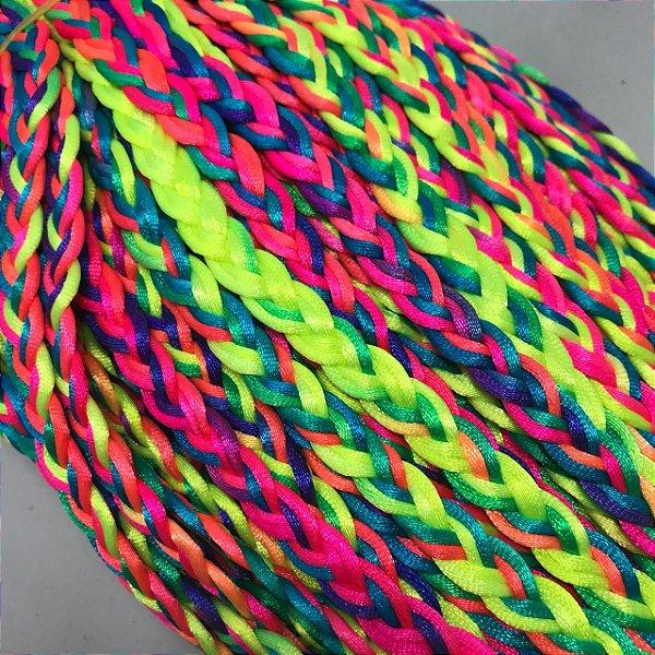 06-0058 Pacote com 5 metros Cordão Neon 11mm x 3,5mm