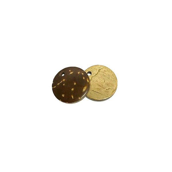 04-0049 Pacote com 1000 Madeiras Redondas c/ Furo 15mm