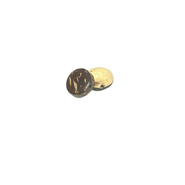 04-0051 Pacote com 1000 Madeiras Redondas c/ Furo Passante 11mm