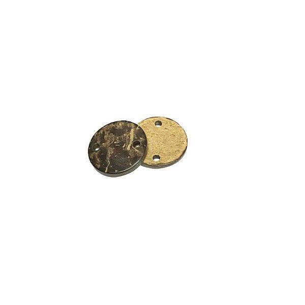 04-0048 Pacote com 1000 Madeiras c/ Dois Furos 15mm