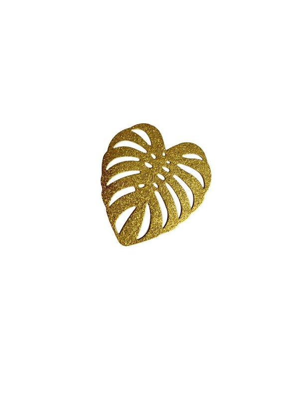 01-2403 1/2kg Estamparia Folha Diamantada em Latão G 45mm x 44mm