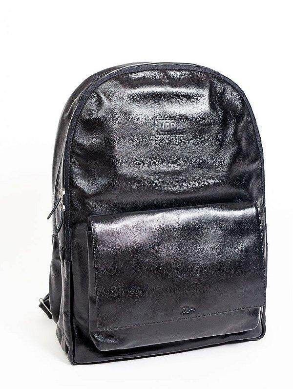 Mochila Urbô Leather Milano Black