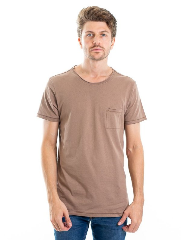 Camiseta Light Basic Bege