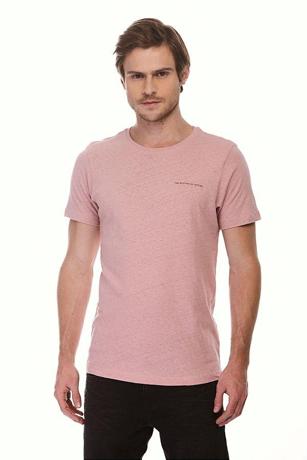Camiseta Rhythm Rosa