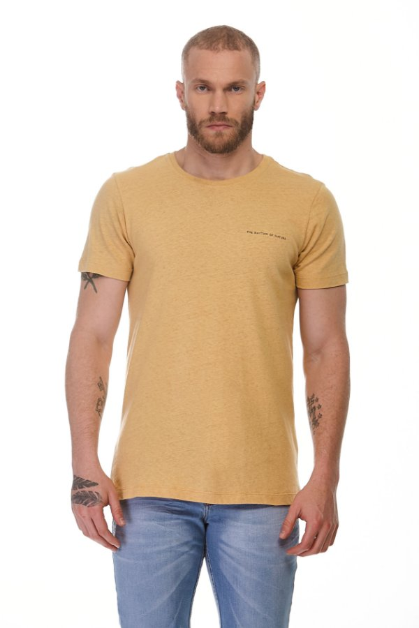 Camiseta Rhythm Amarela