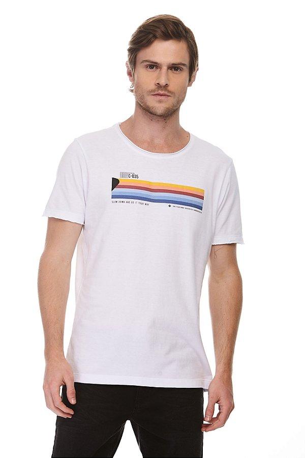 Camiseta Slow Down Branca
