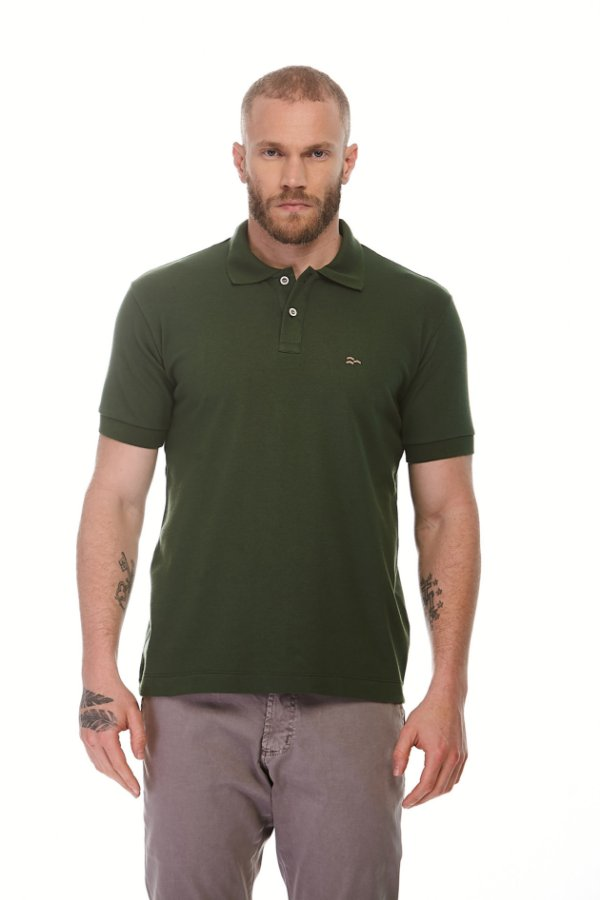 Camisa Polo Piquet Conforto New Verde