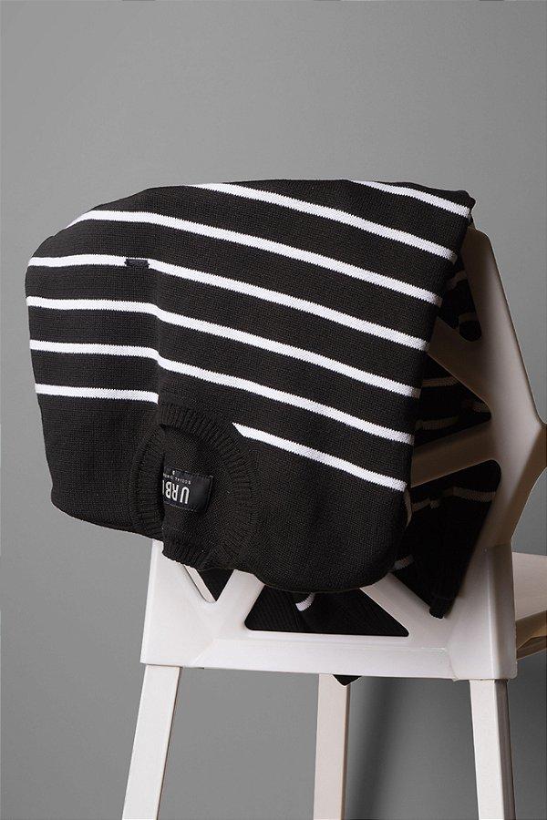 Suéter Stripes P&B