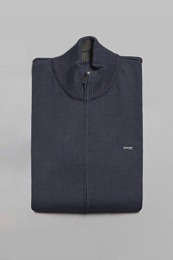 Suéter Zip Marine