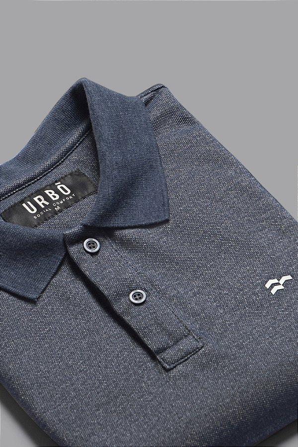 Camisa Polo Jeans Azul