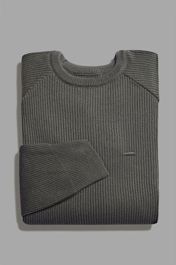 Suéter Solid Olive