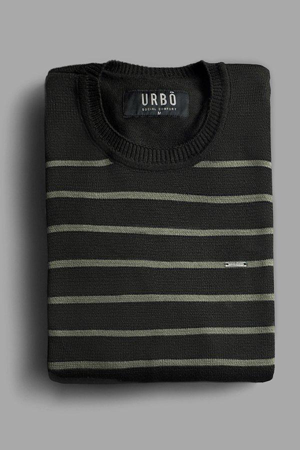 Suéter Stripes Green