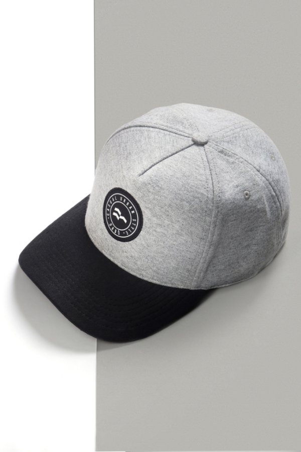 Boné Black & Gray