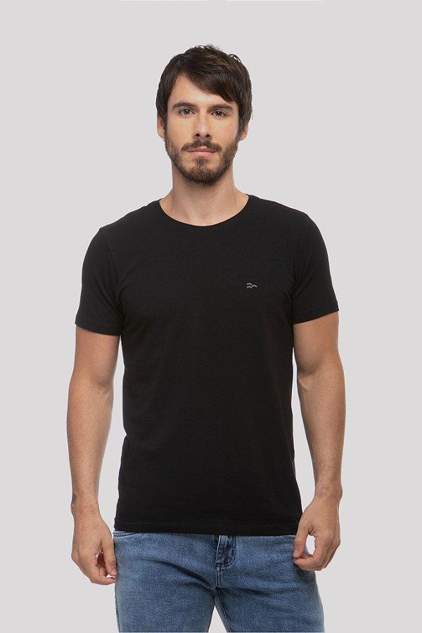 Camiseta Basic Egypt Preta/Off