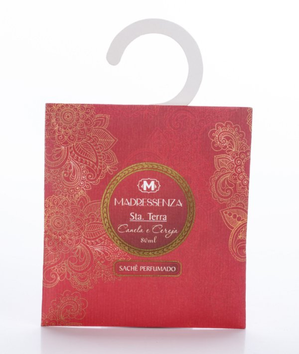 Sachê perfumado Canela e Cereja - 80ml